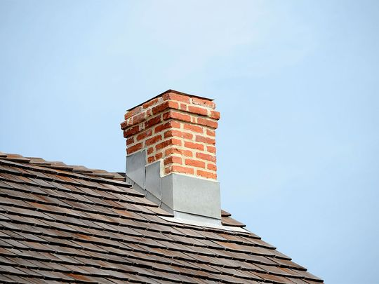 A photo of a customers chimney